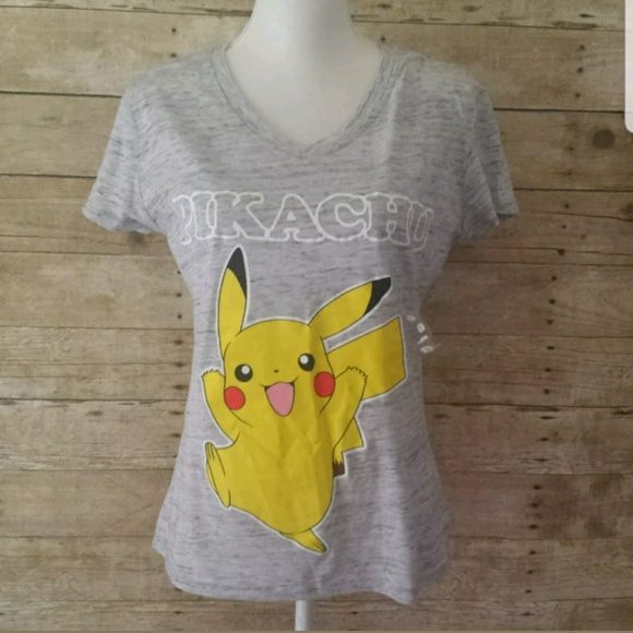ea5f2d119 Pokemon Tops | Pikachu Graphic Tee Shirt Juniors Large L | Poshmark